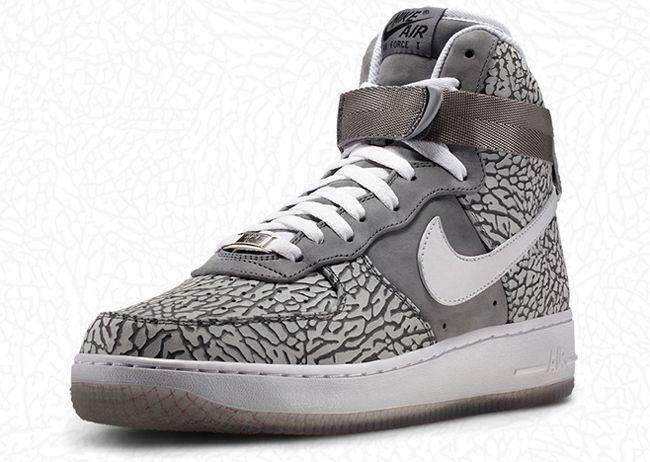 Nike iD Air Force 1 Adds Elephant Print Option  ced7f4e81
