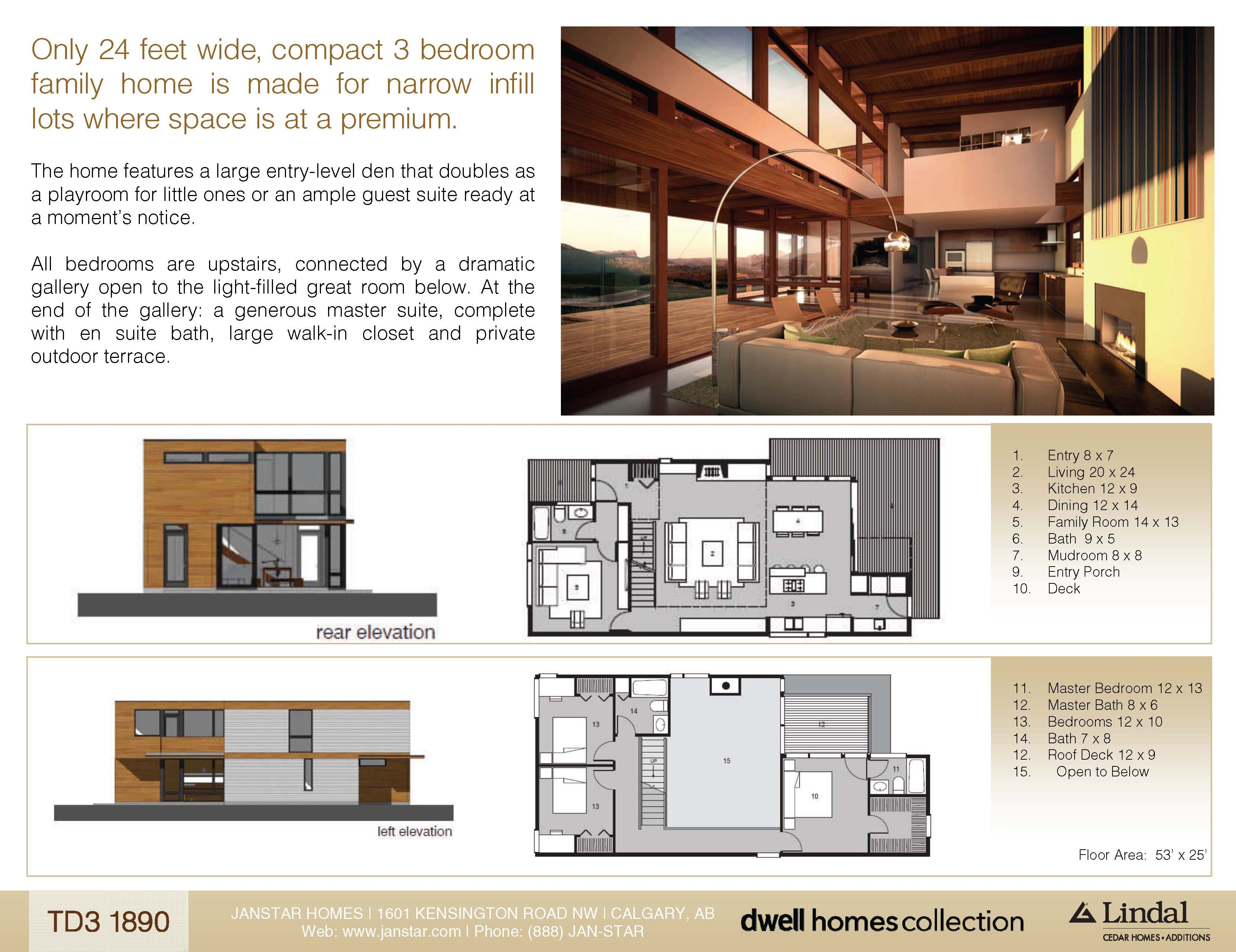 TD3_1890 Lindal Homes - Dwell Homes Collection 24ft wide, made ...