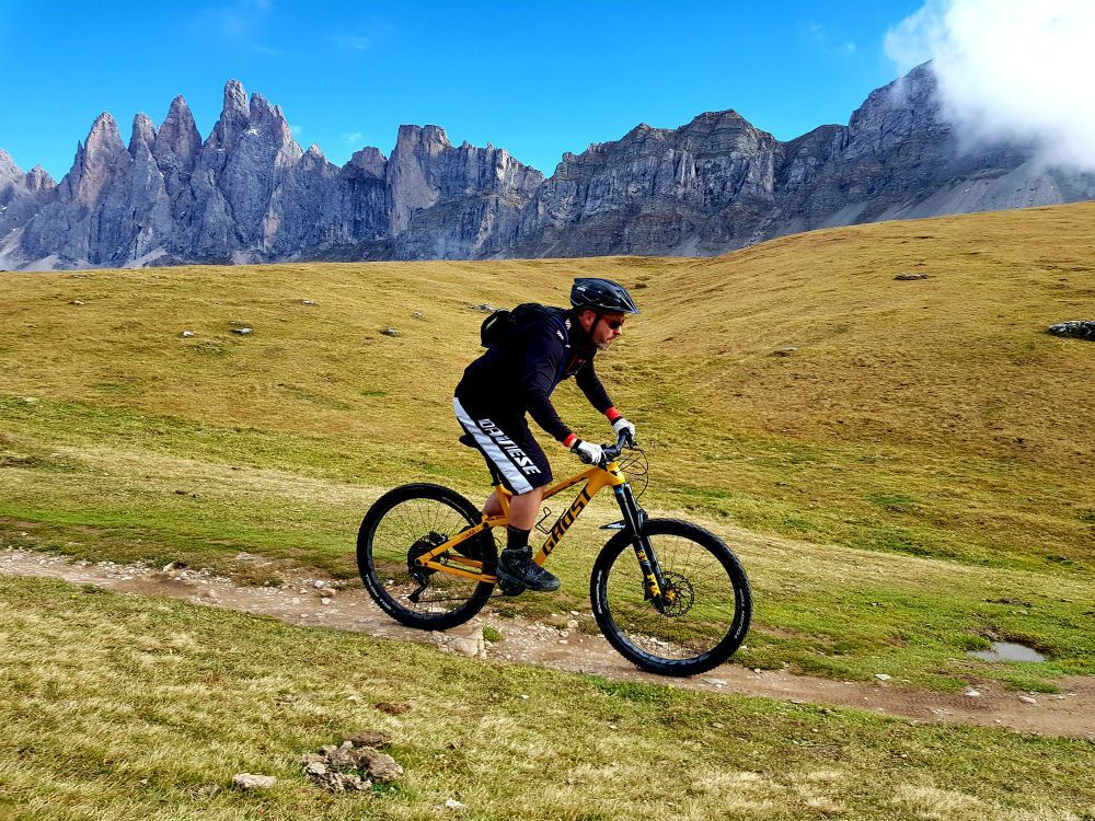 Mtb Vs Emtb Dolomites Mountain Biking In Italy Mountain Biking