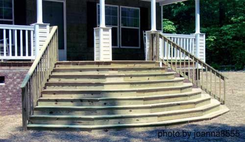 Captivating How To Build Steps. Front Porch ...