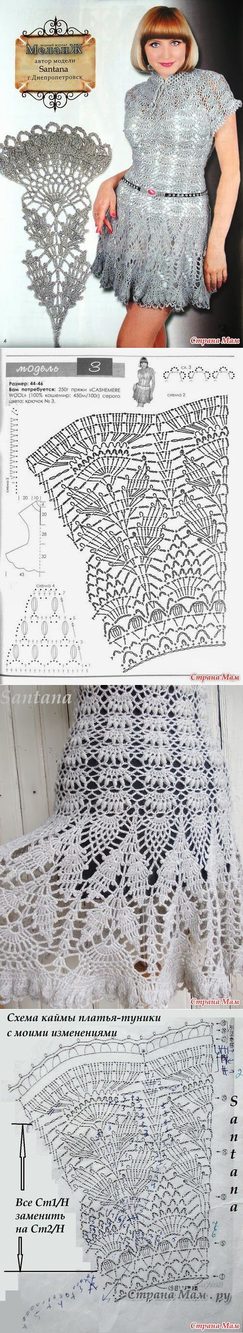 crochet crochet clothes and crochet skirts crochet diagram ccuart Images