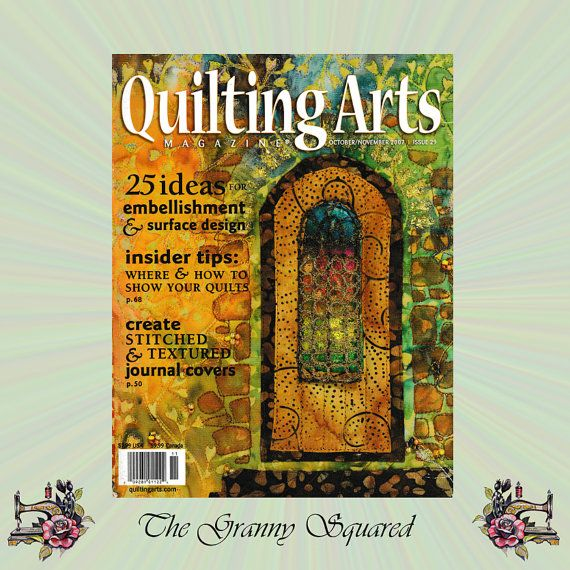 2007 Quilting Arts Magazine 25 Ideas for by TheGrannySquared