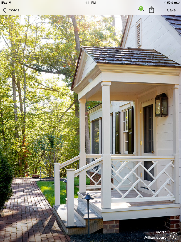 17 Beautiful Porch Railing Ideas You Want to Try #sideporch