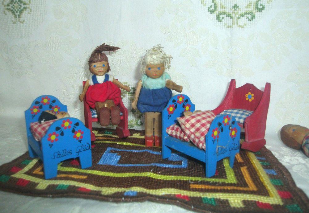 Etagenbett Puppenstube : Puppenstube holzpuppen lotte sievers schaukelstuhl x