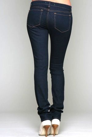 J Brand 912 Low-Rise Pencil Leg Jeans