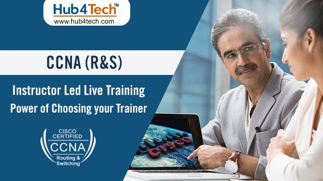Make your networking career bright with CCNA R\S live training at - career live
