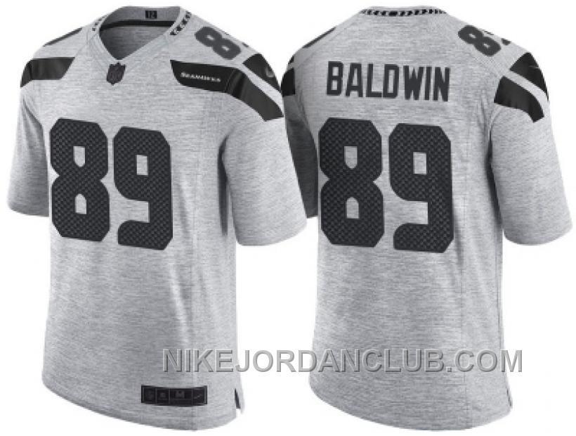 new product 8ce2c 7fba1 nike seattle seahawks 89 doug baldwin white limited jersey