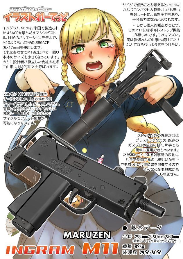 Pin on Armed anime girls