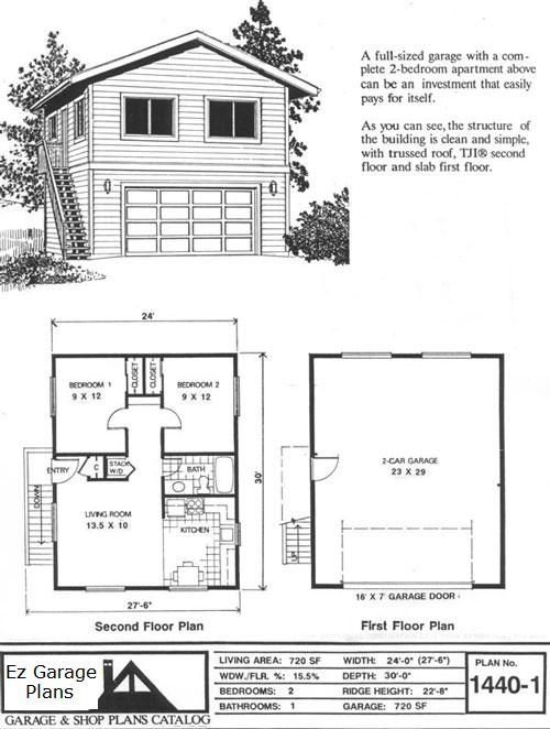 Ez Garage Plans Garage Plans With Loft Garage Floor Plans Apartment Floor Plans