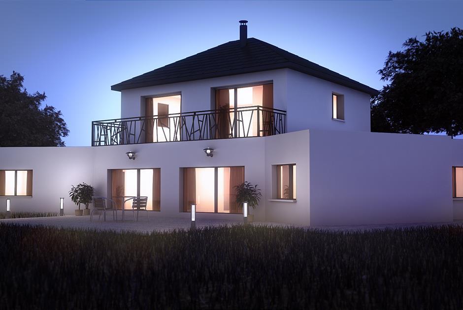 Maisons contemporaines - Constructeur maison contemporaine Lorient, cons… | Constructeur maison ...
