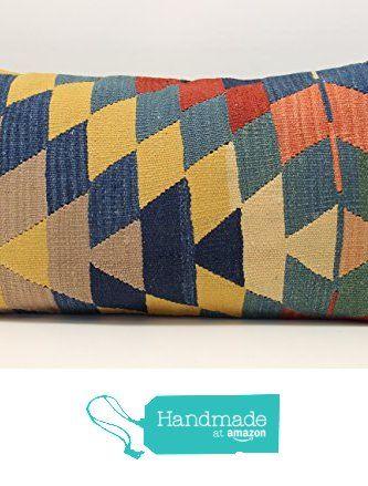 Handmade kilim pillow cover 16x28 inch (40x70 cm) Oriental Lumbar Kilim pillow cover Ethnic Pillow cover Sofa Decor Kilim Cushion Cover from Kilimwarehouse http://www.amazon.com/dp/B01BVM4Z2O/ref=hnd_sw_r_pi_dp_seDXwb1HSC2EQ #handmadeatamazon