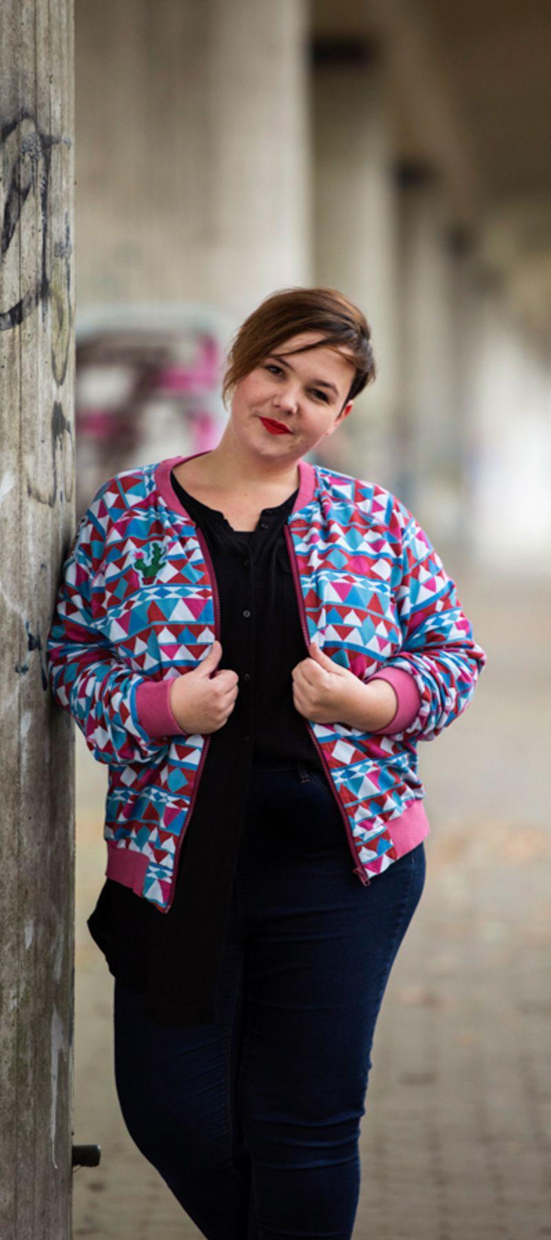 Schnittmuster Blouson MAneela - Trage was du magst! | DIY fashion