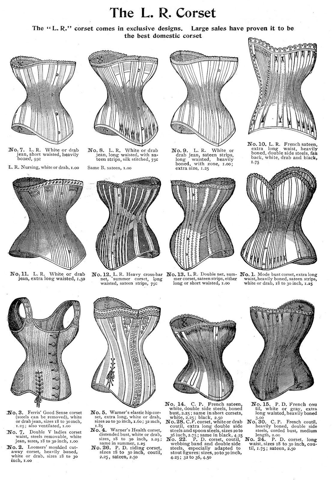 1890 Cosplay Vintage Lingerie Porn Pics 7 vintage corset images!   vintage corset, graphics fairy