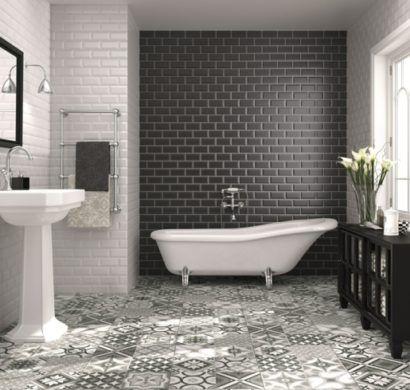 Bad einrichten - Fliesen-Trends in der Badezimmereinrichtung für - trend fliesen