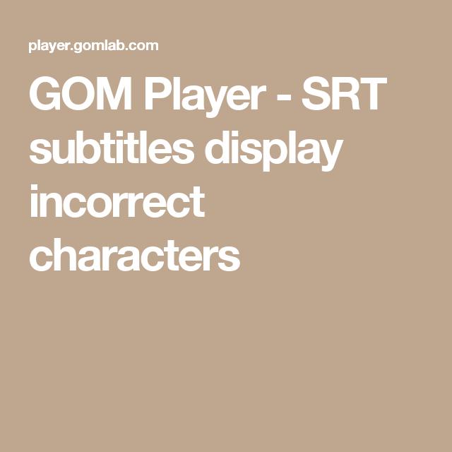 gom player subtitles