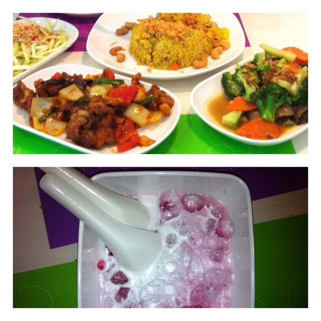 Delicious Thai dishes !