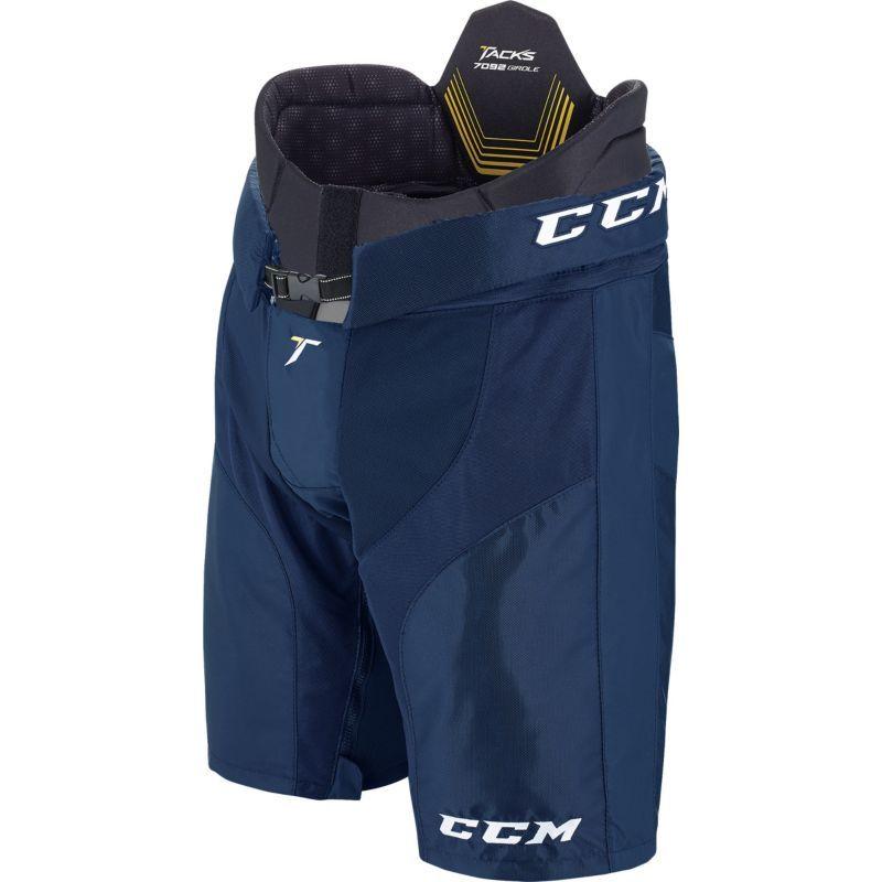 Ccm Junior Tacks 7092 Padded Ice Hockey Girdle With Pant Shell Blue Ice Hockey Girdle Hockey