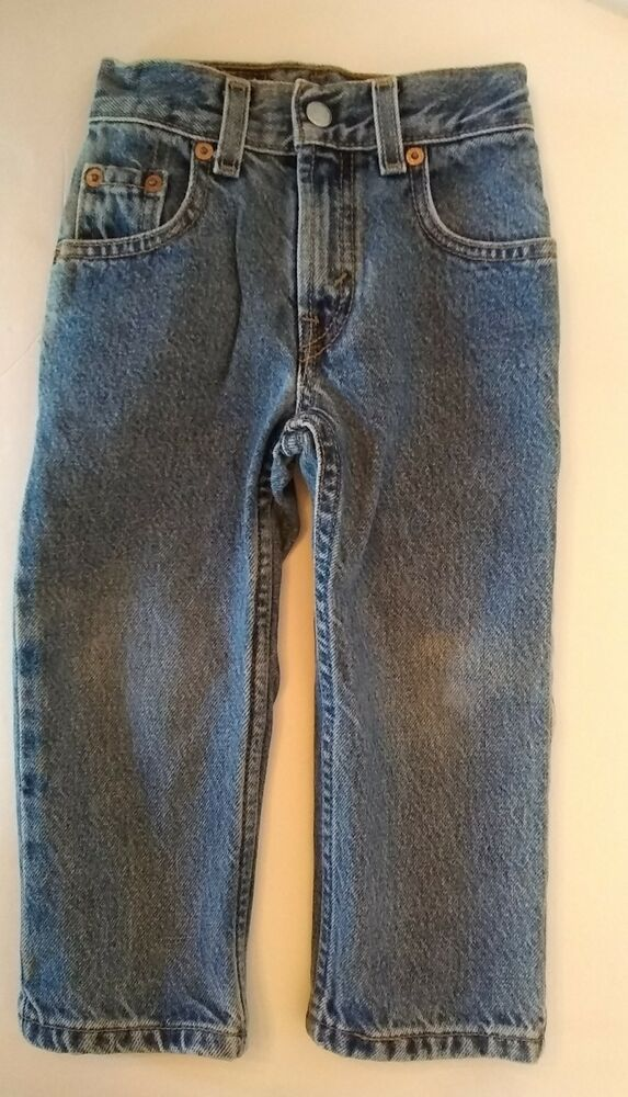 da777967c0a Vtg Levis Blue Jeans Toddler 3T SLIM Boys Red Tab Pants 550 Relaxed Fit  Denim  Levis  Jeans  Everyday