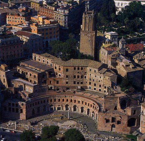 Apollodorus of Damascus, Markets of Trajan, Rome, Italy, AD 110
