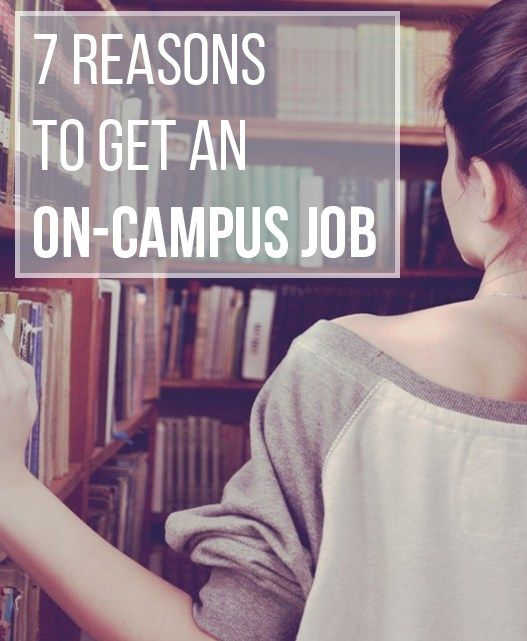 7 Reasons to Get an On-Campus Job - on campus job resume