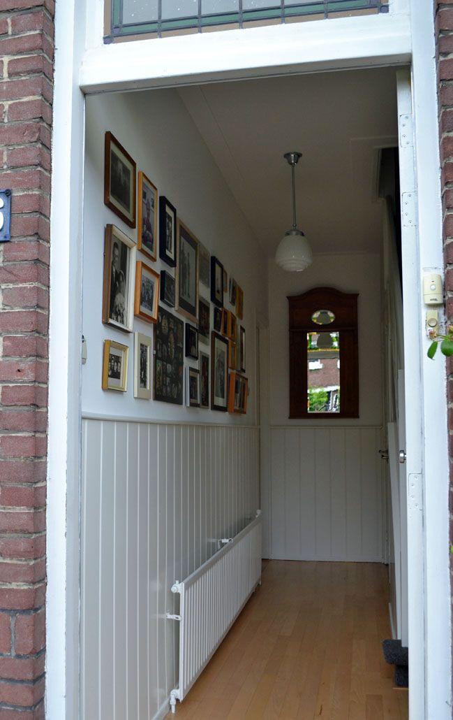 Ontwerp kleuradvies en restyling hal jaren dertig woning. Binnenkijken Interieuradvies