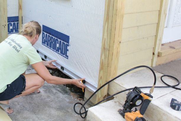 How To Install Hardie Board Siding Diymyspring In 2020 Hardie Board Siding Installing Siding Hardie Board