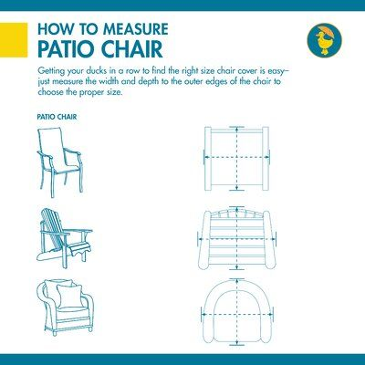 Water Resistant Heavy Duty Patio Chair