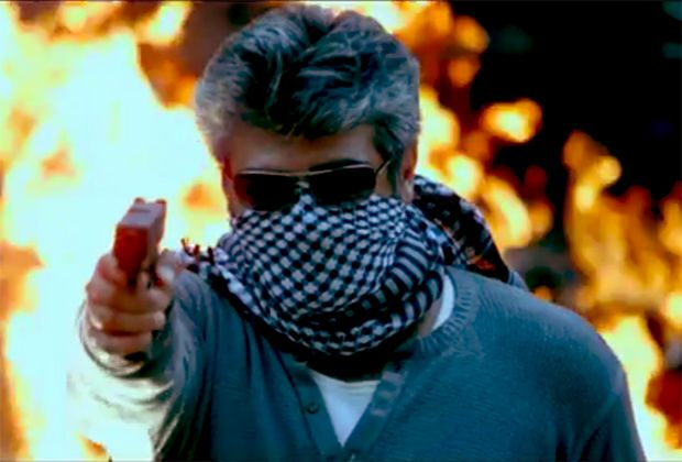 Ajith in Aarambam Review