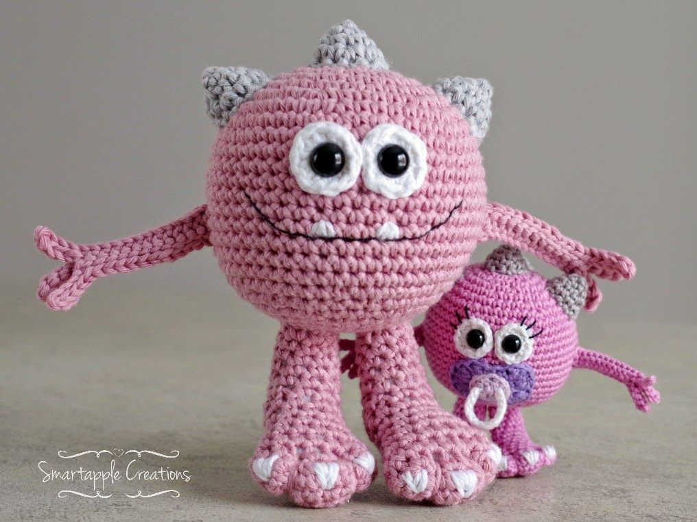 New Pattern Huggy Monster By Smartapple Creations Amigurumi