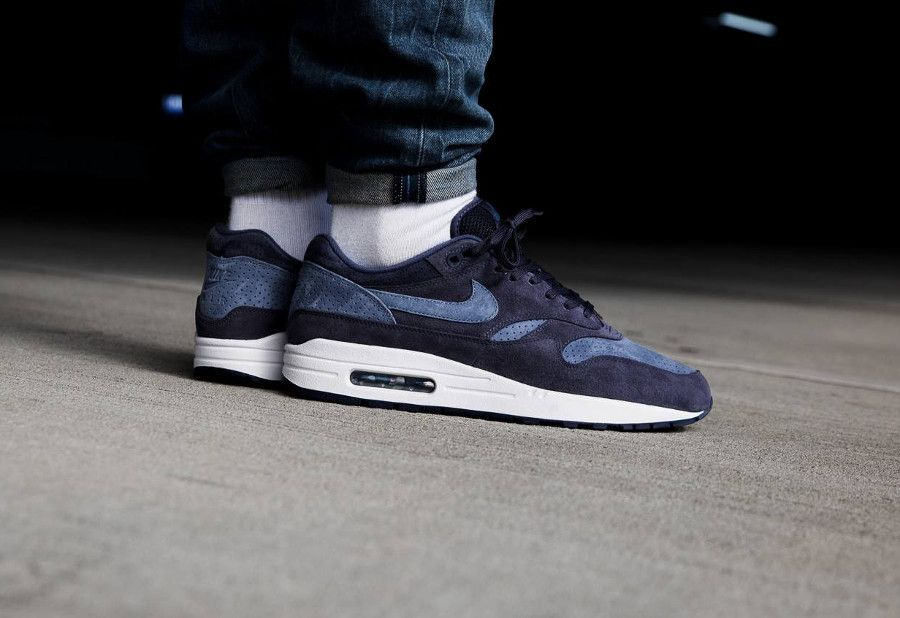 low priced 53215 75155 Comment acheter la chaussure Nike Air Max 1 Premium Suede  Neutral Indigo  Diffused Blue