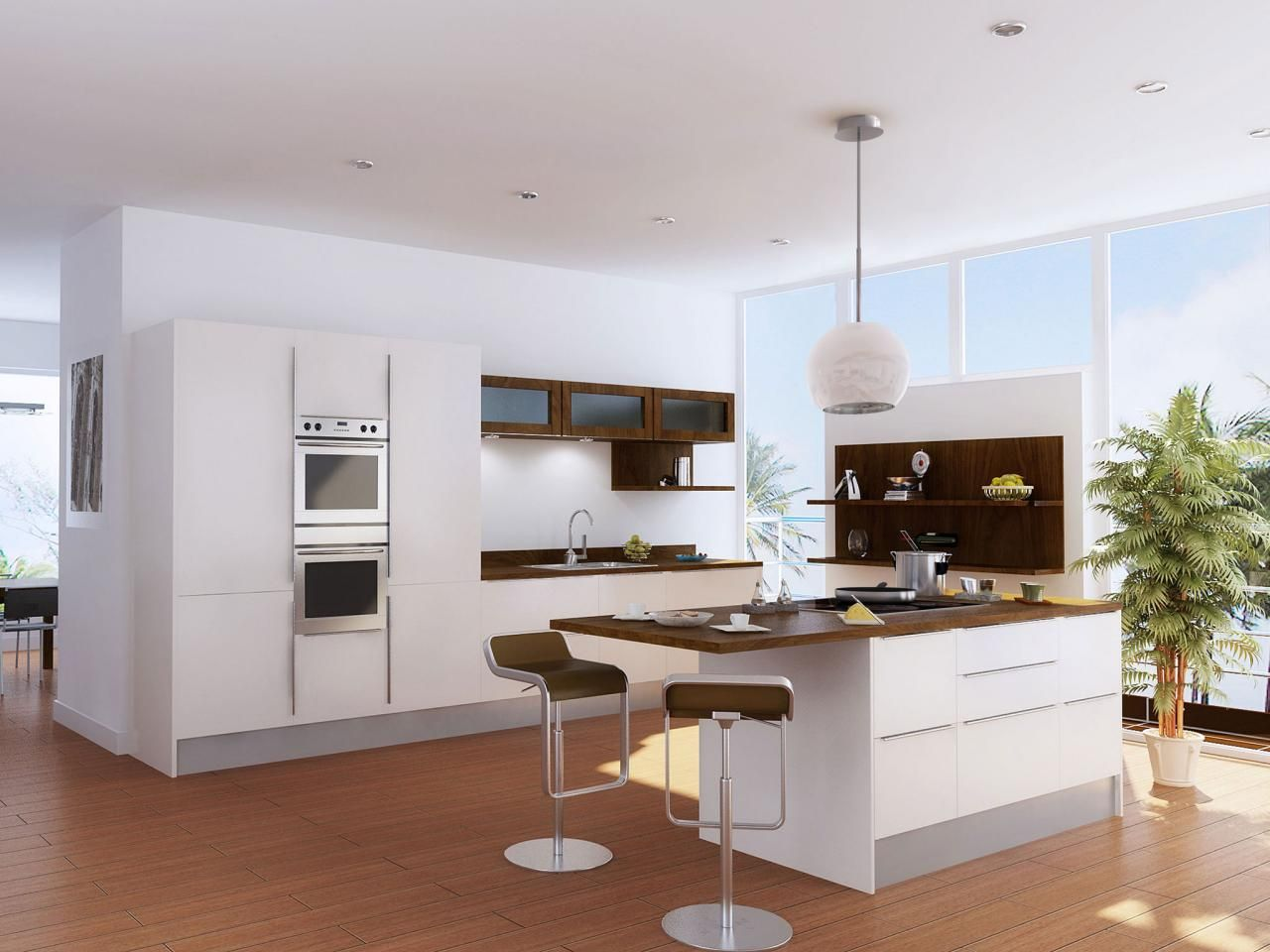 one-wall kitchen design: pictures, ideas & tips from   kitchen