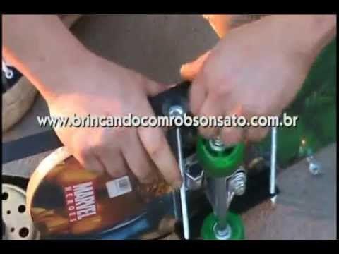 SKATE ELÉTRICO CASEIRO - PASSO A PASSO - YouTube