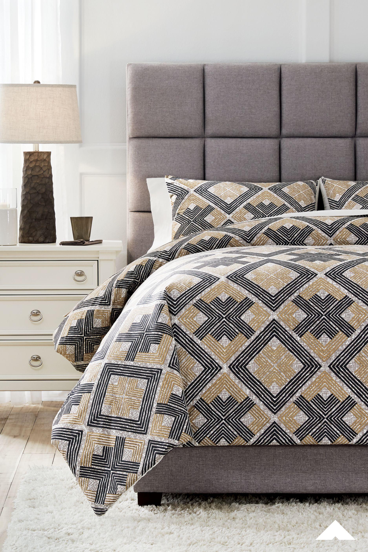 scylla black brown queen comforter set
