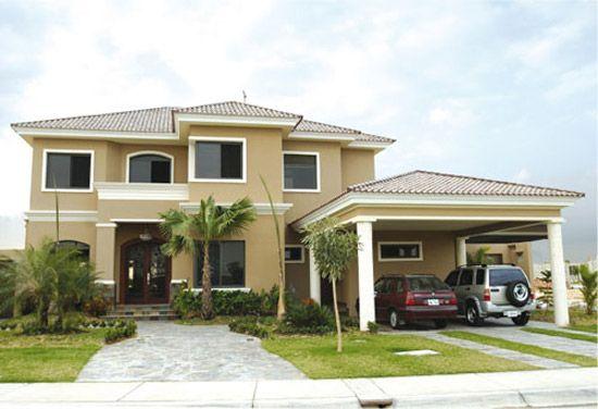 30 fachadas de casas modernas y lujosas fachadas new en for Fachadas de casas modernas en honduras