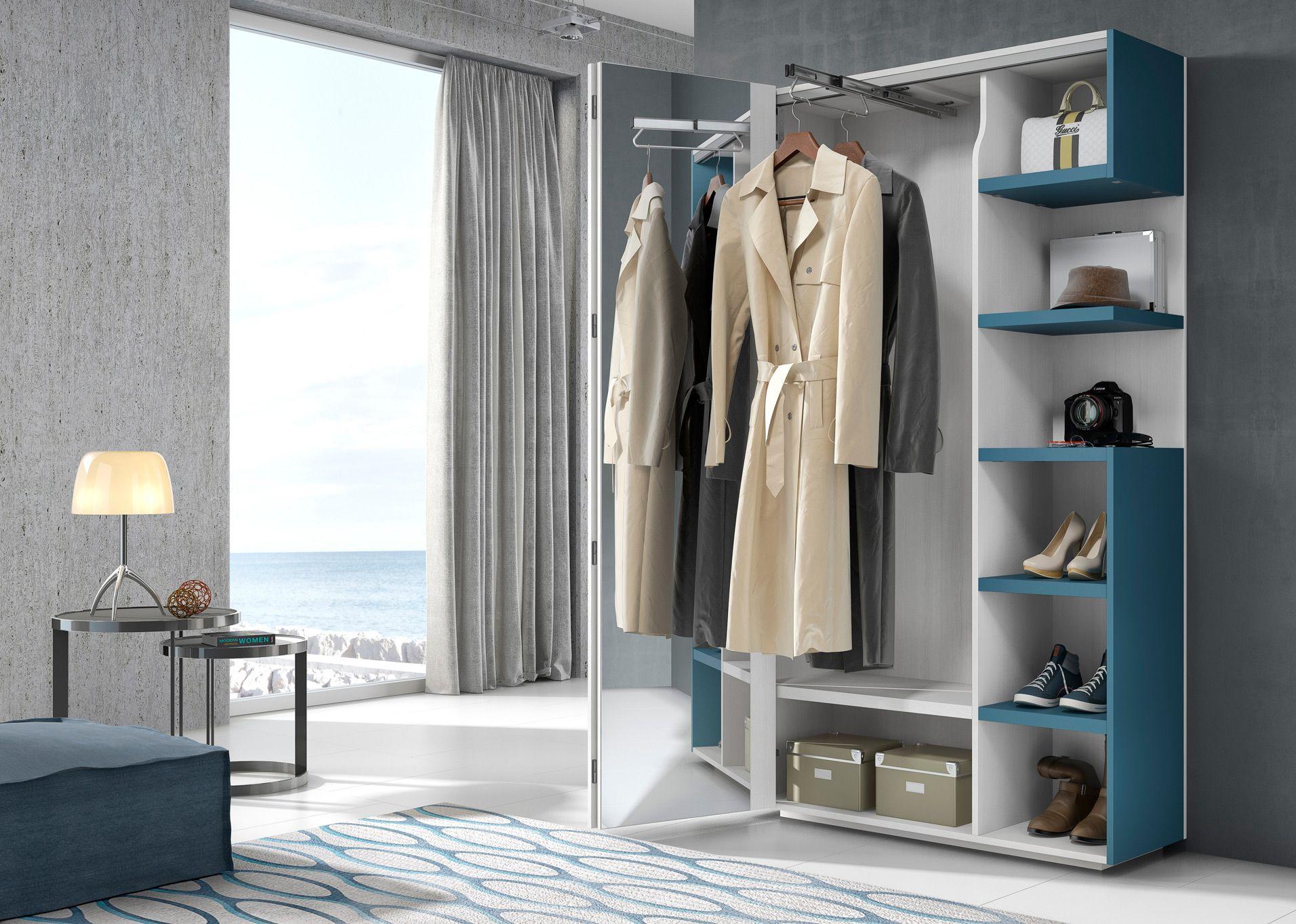 Pin de muebles hermida en armarios en 2018 pinterest - Armario en el recibidor ...