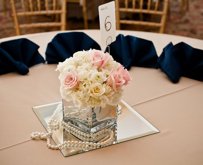Romantic vintage texas wedding centerpieces