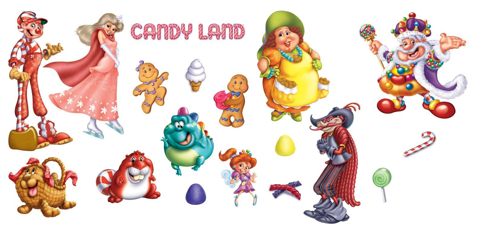 Candyland Characters, could hide them around for scavenger hunt. if ...
