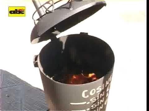 Cocina sin gas sin carb n y sin le a cocina para di tph pinterest le a carb n y youtube - Cocinas de carbon y lena ...