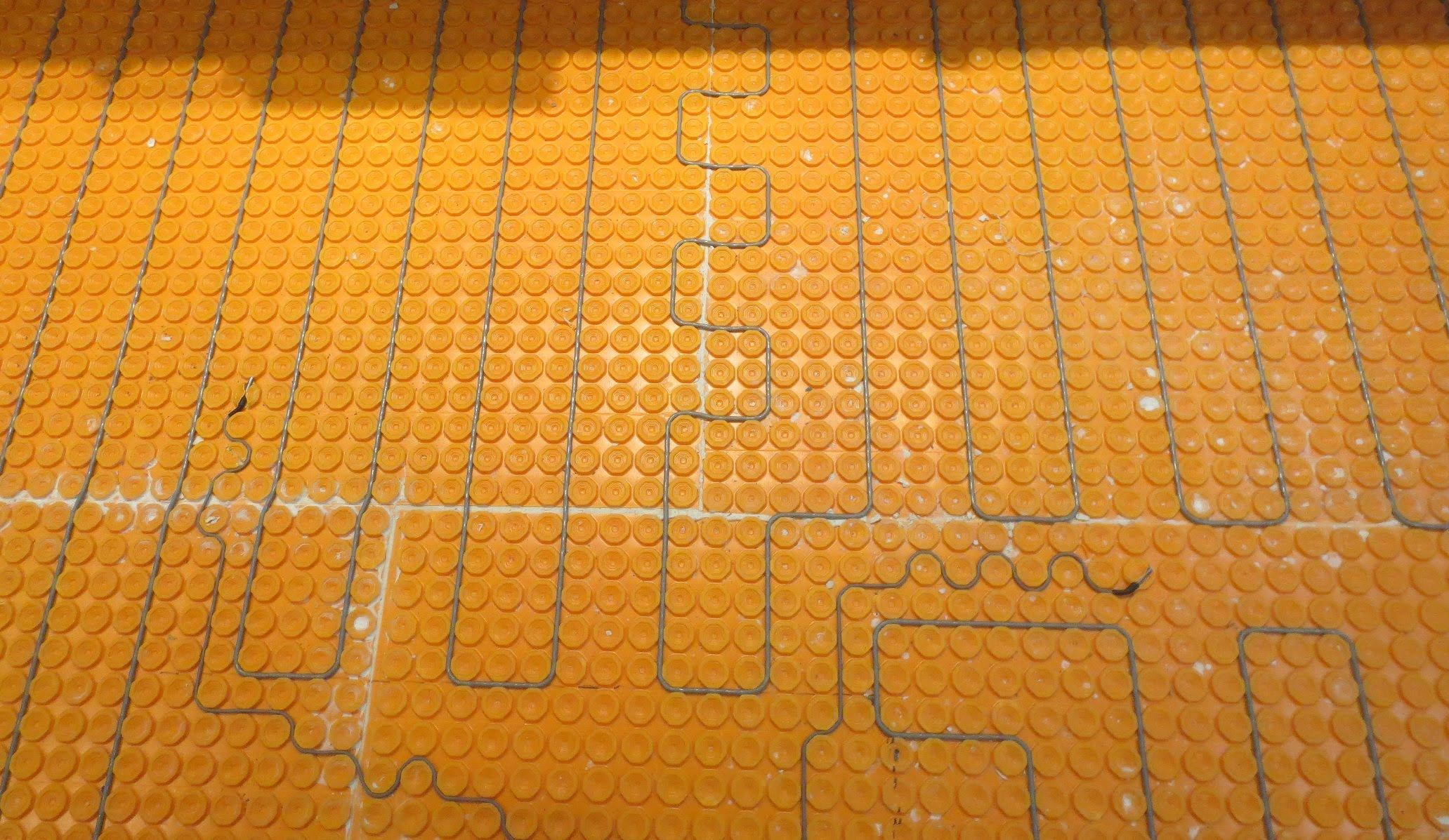 Ditra Heat How To Install It Start To Finish Heated Floors Heat Installation Flooring