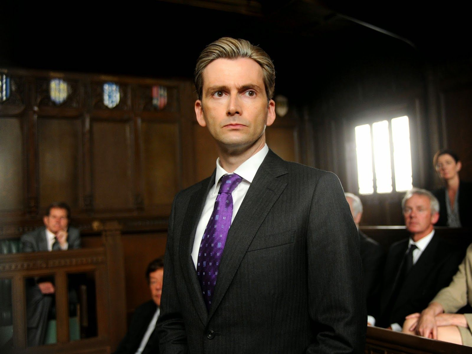PHOTOS David Tennant In The Politician's Husband