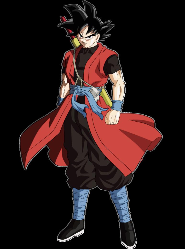 Goku Xeno by andrewdragonball | Kaioken | Dragon ball ...