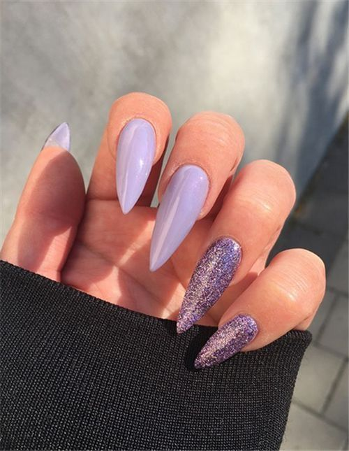 Pin By Anja On Nails In 2020 Almond Acrylic Nails Fall Acrylic Nails Stiletto Nails Designs