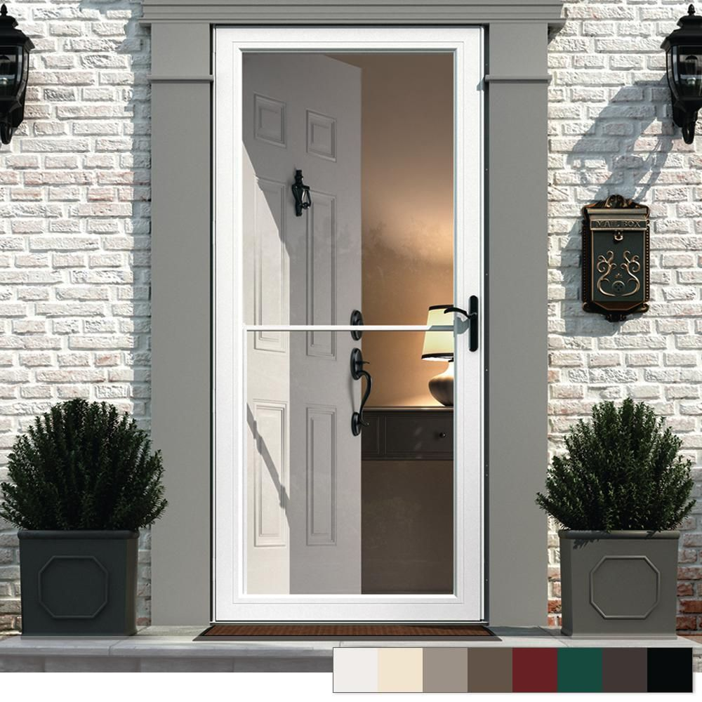 Andersen 3000 Series Full View Retractable Aluminum Storm Door
