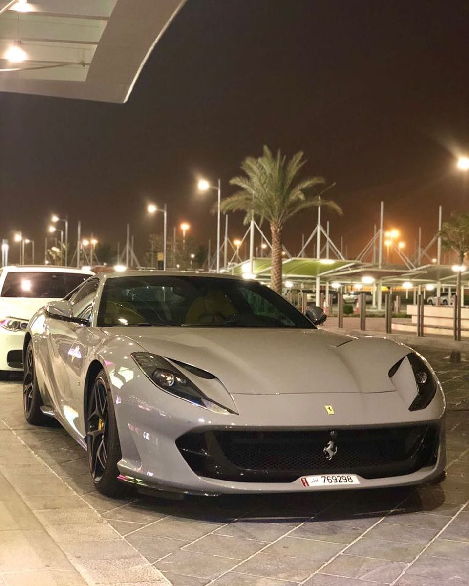 Ferrari 812 Super Fast Super Sport Cars Super Luxury Cars Sports Cars