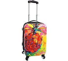 Travel tips: we love this Spinner Luggage. Be unique, travel your way, enjoy concierge travel planning with PJ. Leoma Lovegrove 20'' Love Thy Spinner Luggage #wildsidedestination #alltravelersallowed