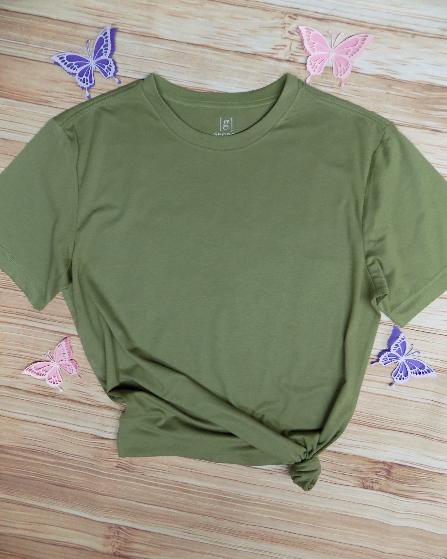 Download Green Shirt Mock Up Clothing Mockup Custom Shirts Fishing T Shirts