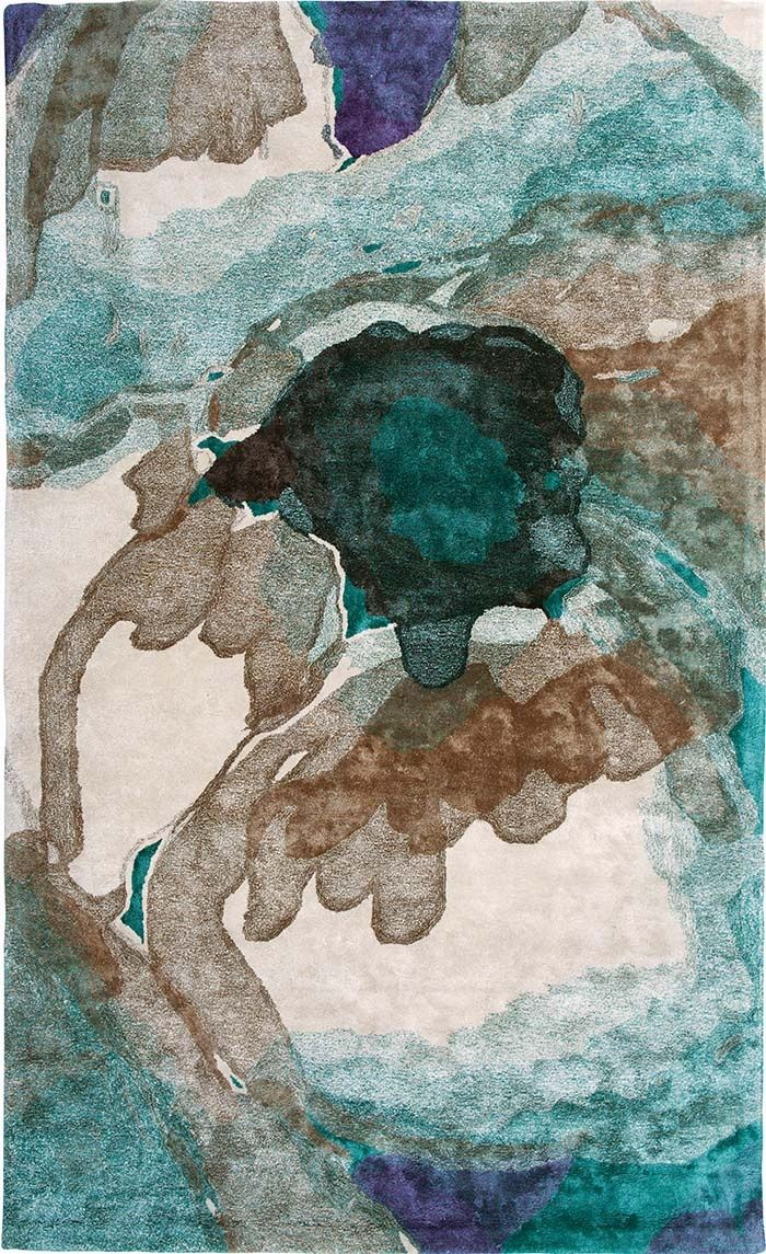 roche bobois sally rug in viscose rugs carpets textiles - Tapis Roche Bobois