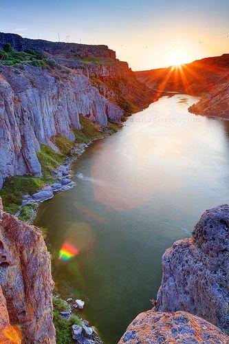 Snake River Canyon . Idaho