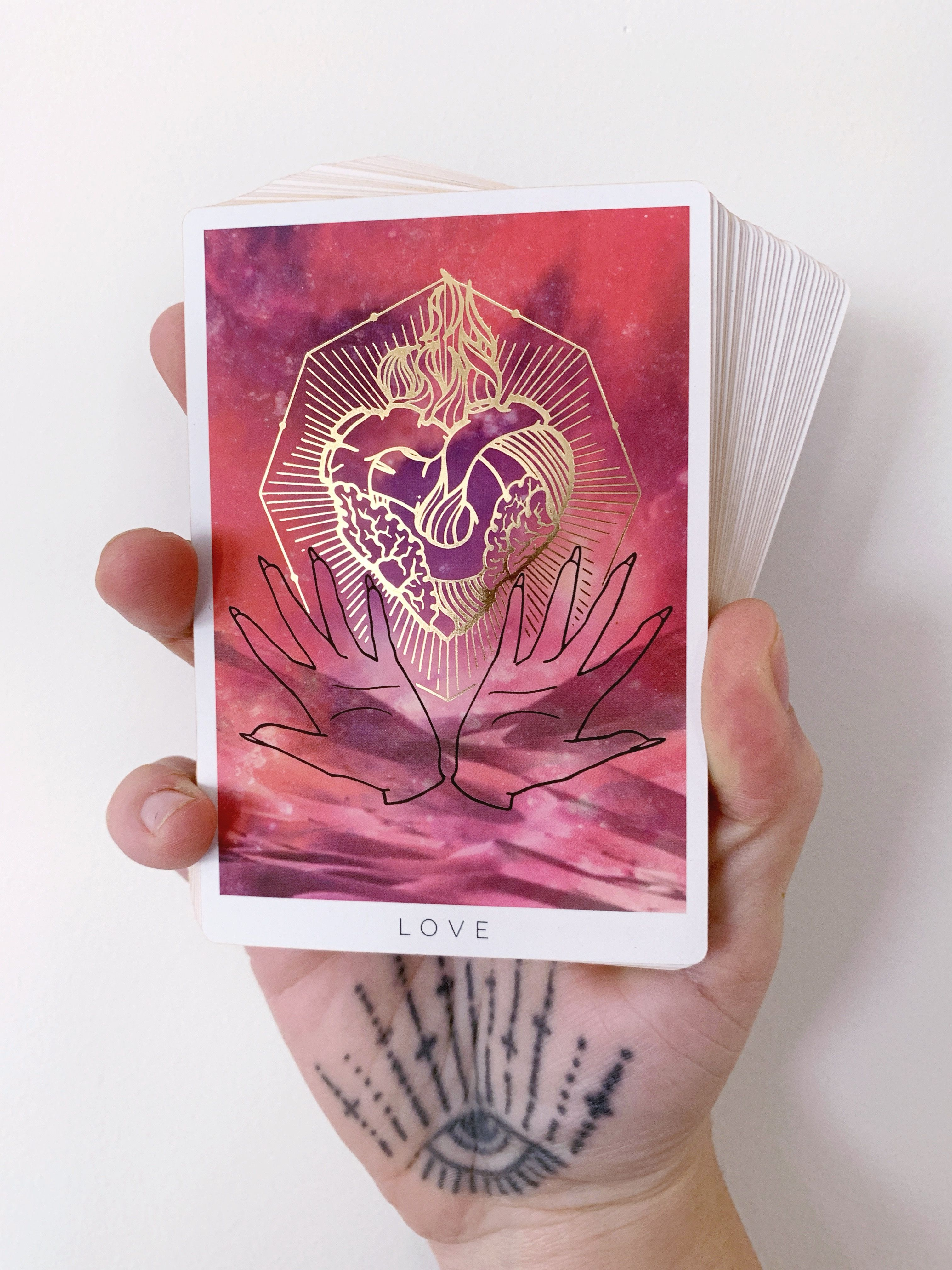 The Love Card From Threads Of Fate Oracle Deck Www