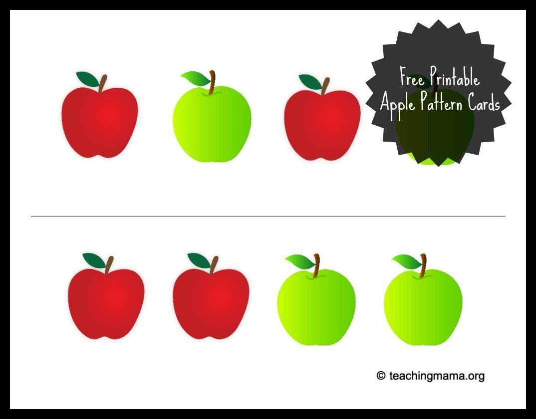 Apple Sensory Bin With Free Printable Free Printable Apple